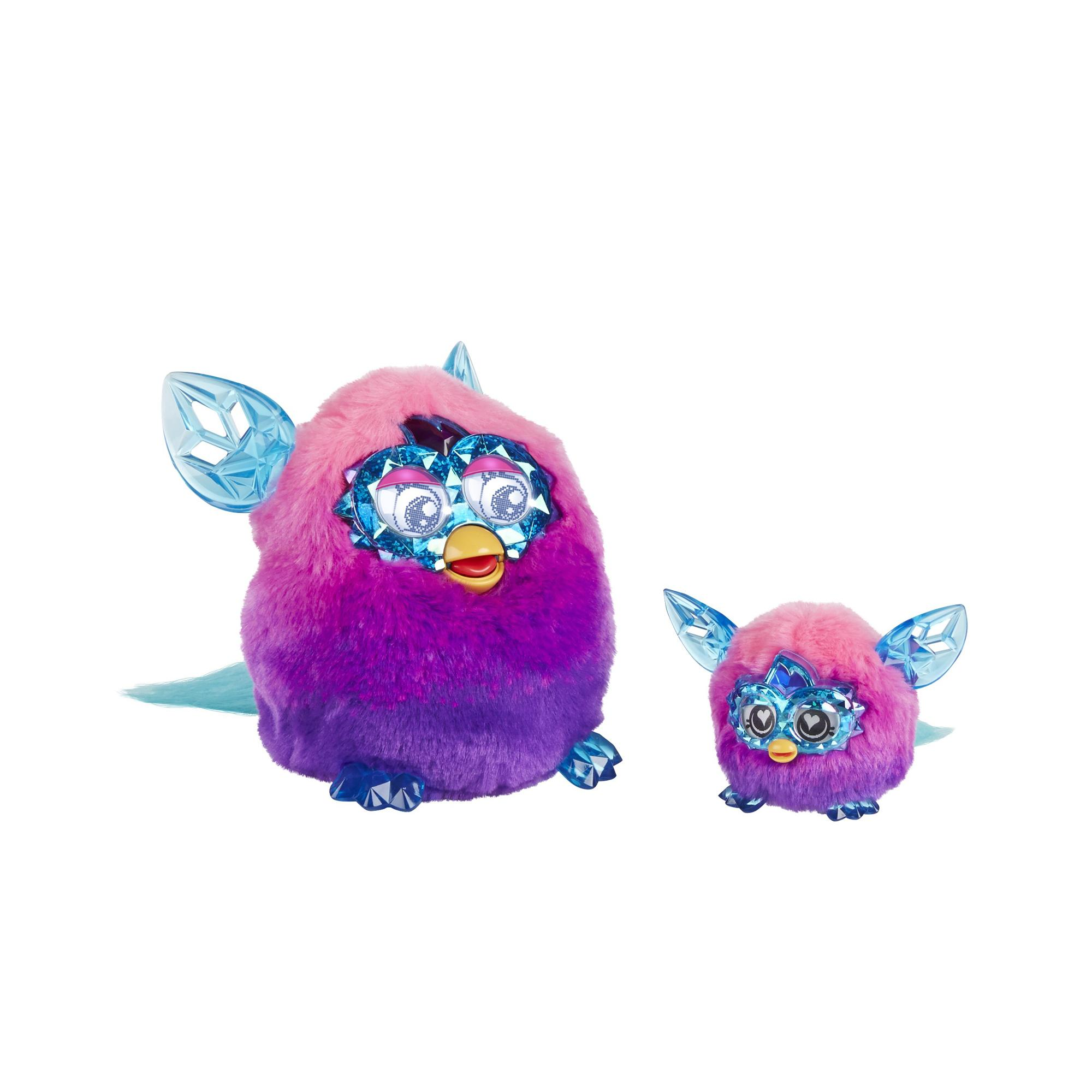 Amazon.com: Furby Furblings Creature Plush, Pink/Purple: Toys & Games