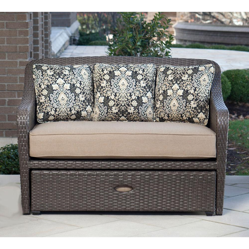 Hanover outdoor furniture 2 piece langdon for Outdoor furniture amazon