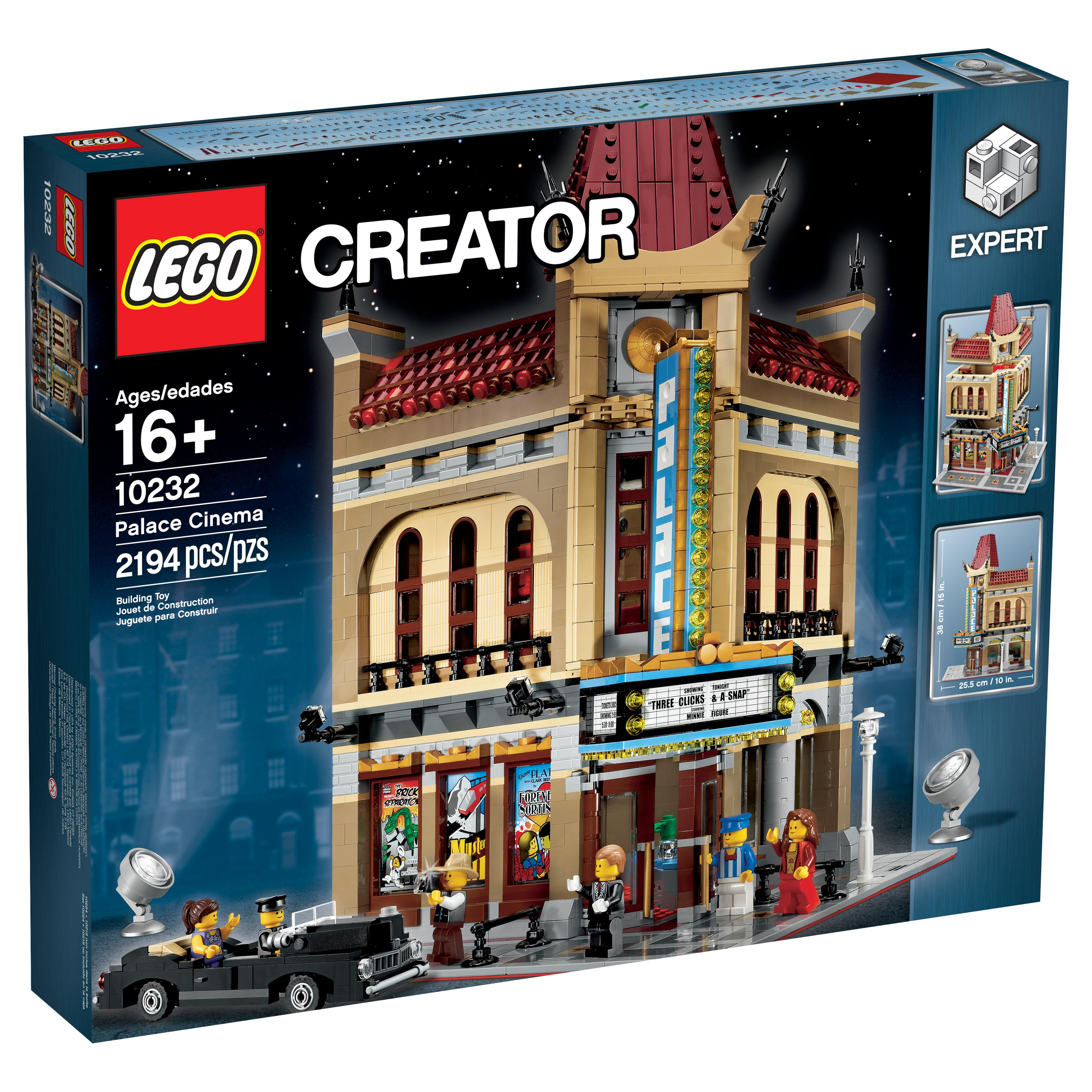 lego creator 10232 palace cinema toys games. Black Bedroom Furniture Sets. Home Design Ideas