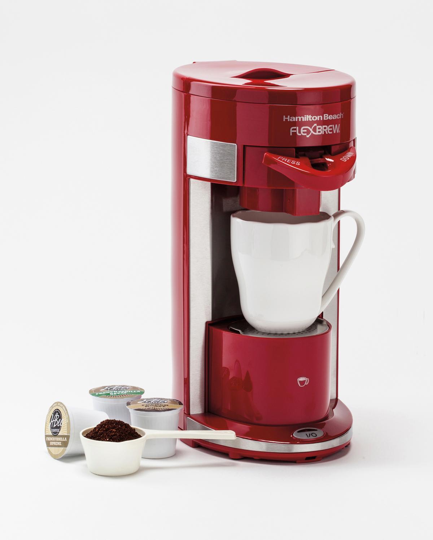K Cup Coffee Maker Reviews 2012 : Amazon.com: Hamilton Beach 49962 FlexBrew Single-Serve ...