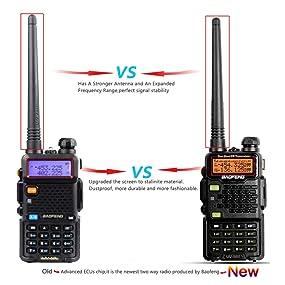 baofeng uv5r5 two way radio