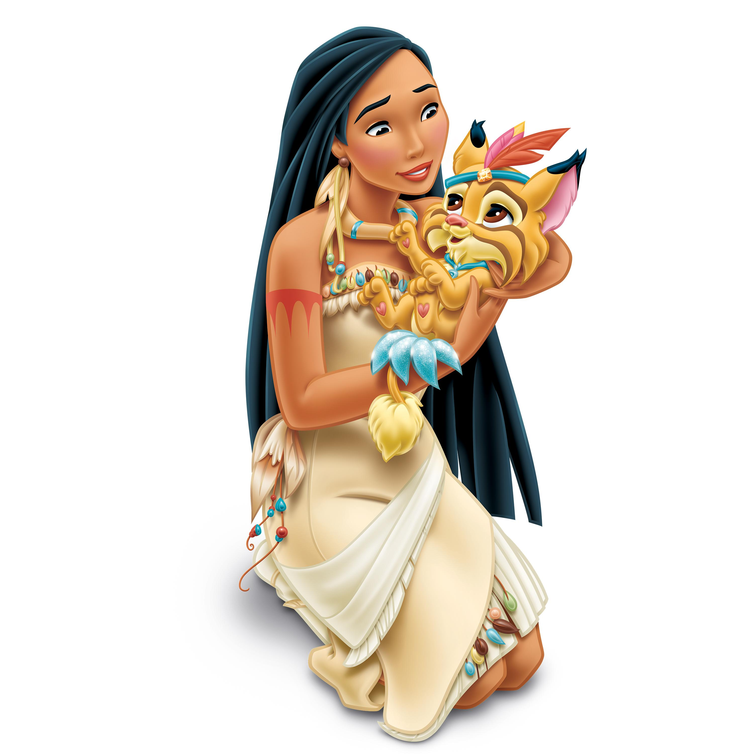 on a nice autumn day pocahontas had just come back from the forest but
