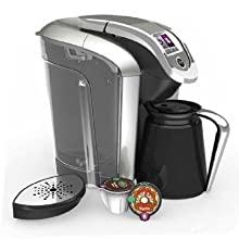 Keurig Coffee Maker Cleaning The Needle : Amazon.com: Keurig K500 Coffee Maker Single Serve 2.0 Brewing System with Top Needle Cleaning ...