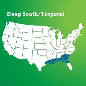Deep South/Tropical