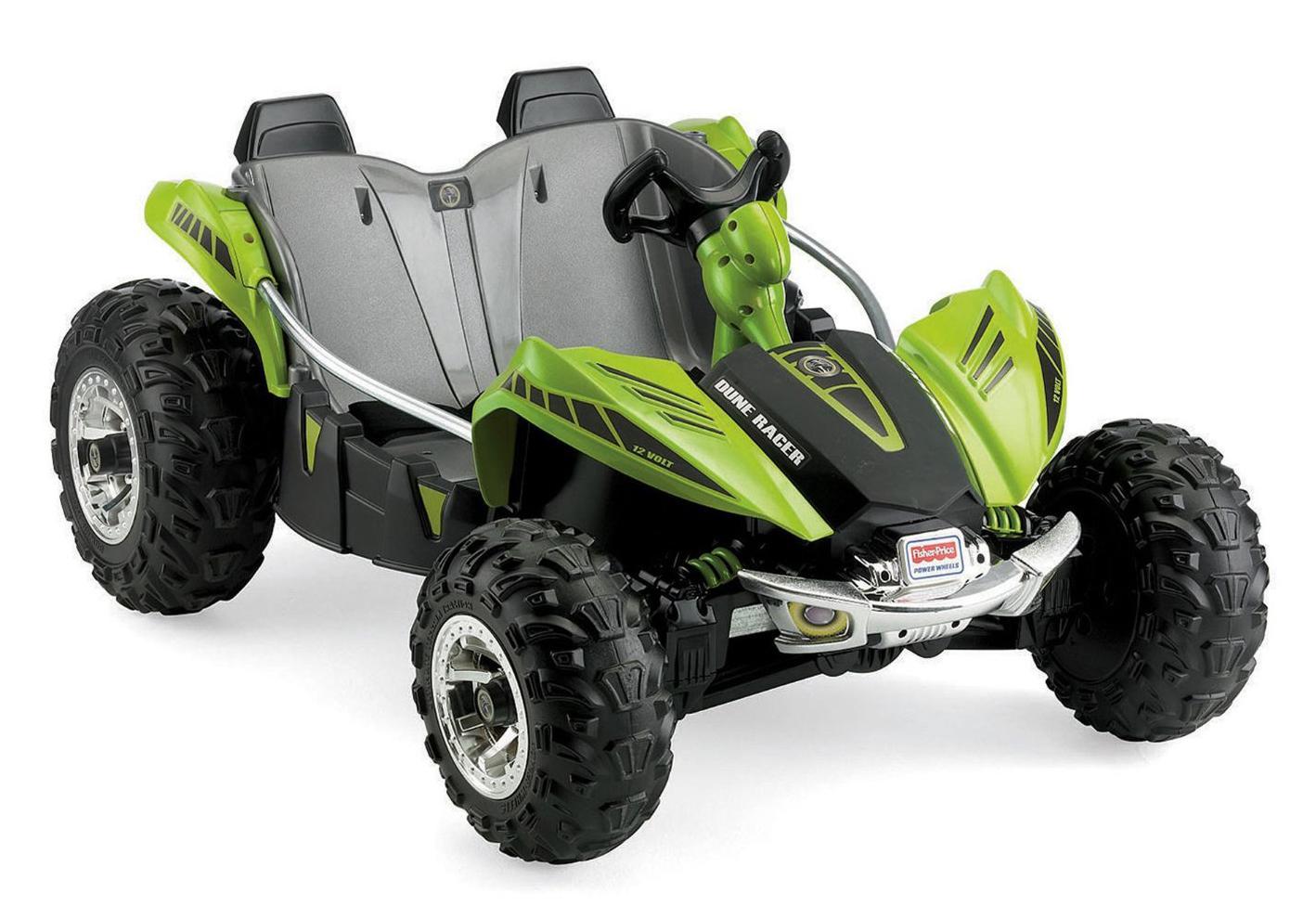 Amazon.com: Power Wheels Dune Racer, Green: Toys & Games