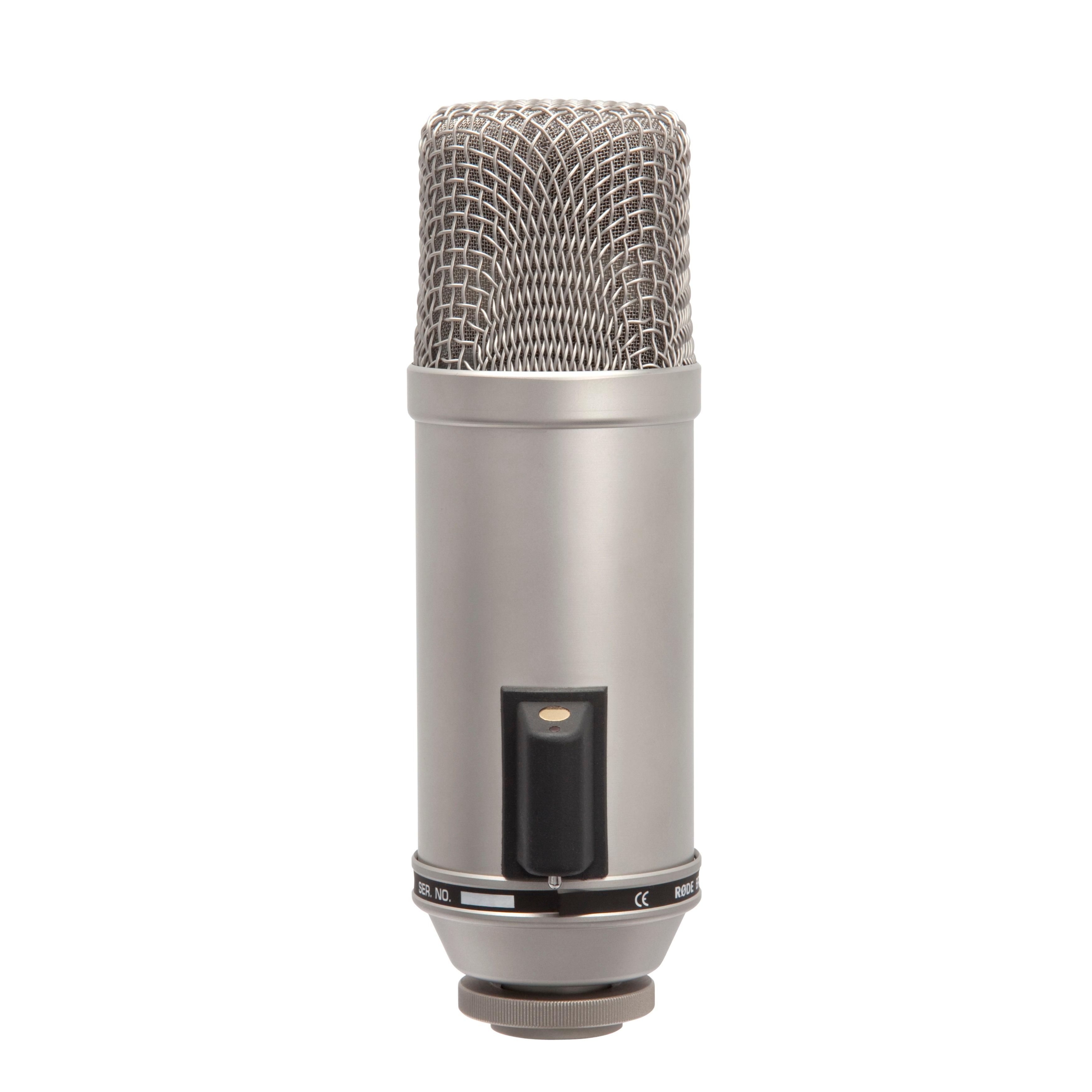 Amazon.com: Rode Broadcaster Studio Condenser Microphone: Musical