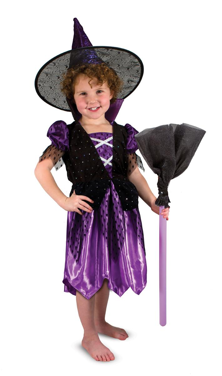 Amazon.com: Melissa & Doug Witch Role Play Costume Set: Melissa ...