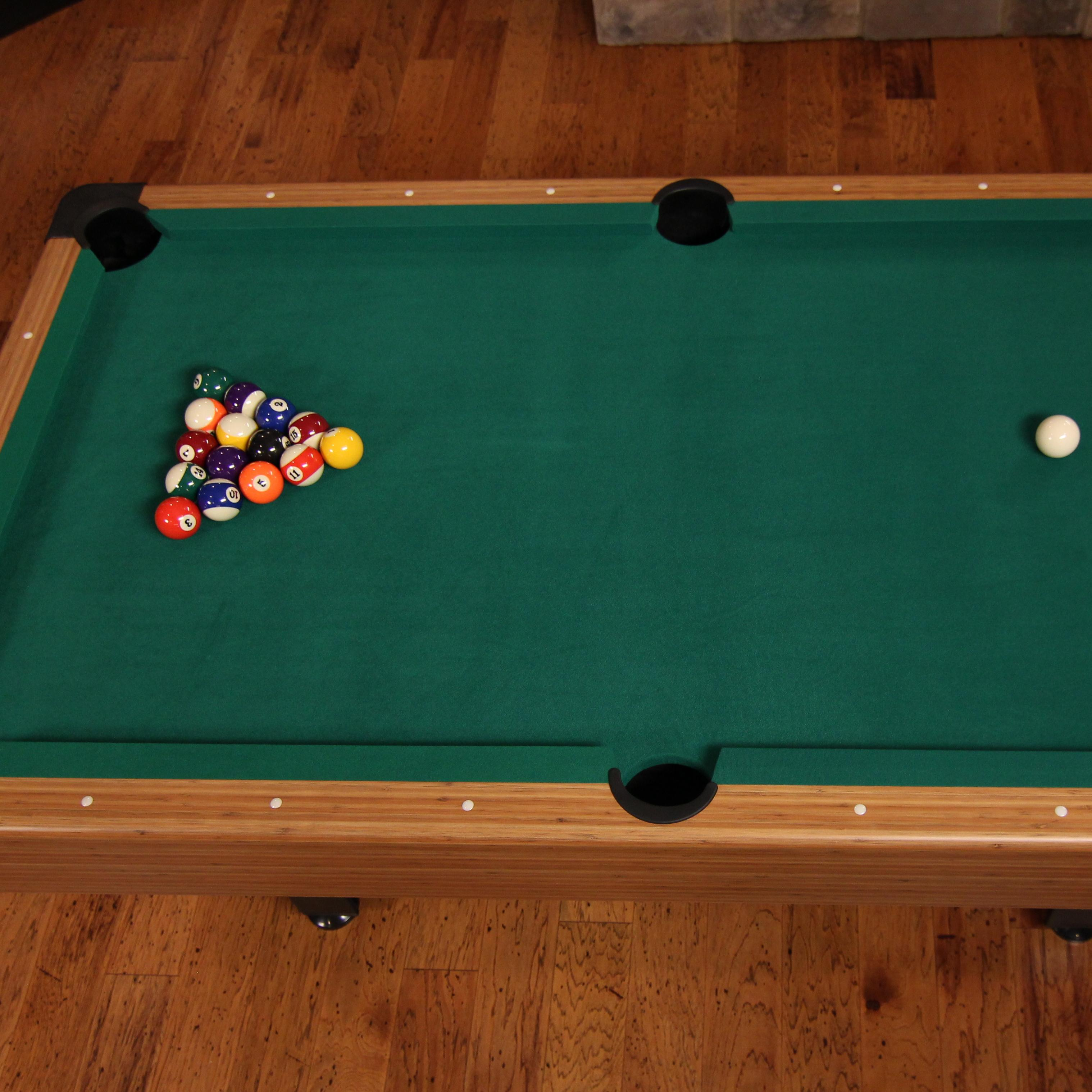 Mizerak dynasty space saver 6 5 39 billiard table pool tables sports outdoors - Space needed for pool table ...