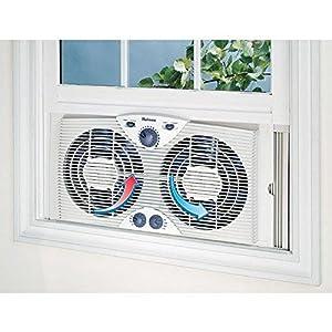 Amazon Com Holmes Hawf 2041 Twin Window Fan With Comfort