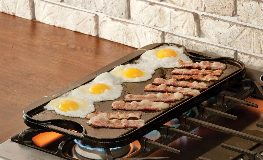 how to clean nasty cast iron grill