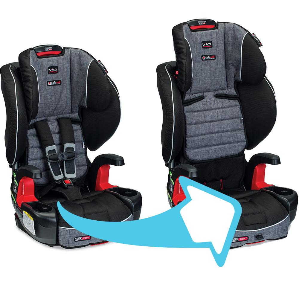 britax frontier clicktight combination harness 2 booster car seat us supply. Black Bedroom Furniture Sets. Home Design Ideas