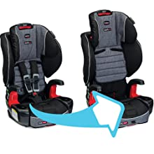 transitional car seat, child seat, britax clicktight, high back booster seat