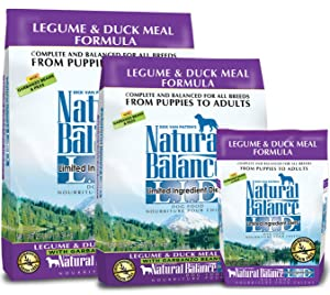 legume and duck meal limited ingredient dog food