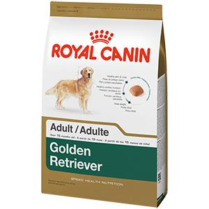 royal canin breed health nutrition golden retriever adult dry dog food 30 pound. Black Bedroom Furniture Sets. Home Design Ideas