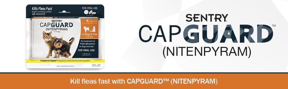 Amazon Com Sentry Capguard Nitenpyram Oral Flea