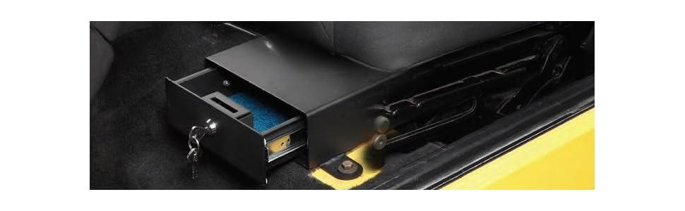 Bestop 42643 01 Center Console Lock Box For 2011 2017