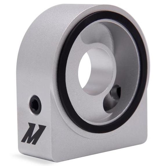 10AN Black Mishimoto MMSPF-10ANBK Sandwich Plate Fitting M20 x