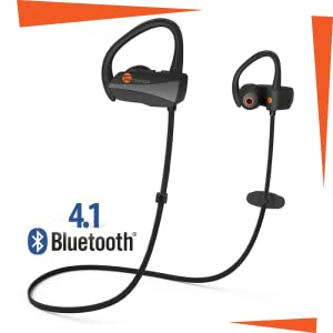 Bluetooth pairing, meaning minimal lost connections