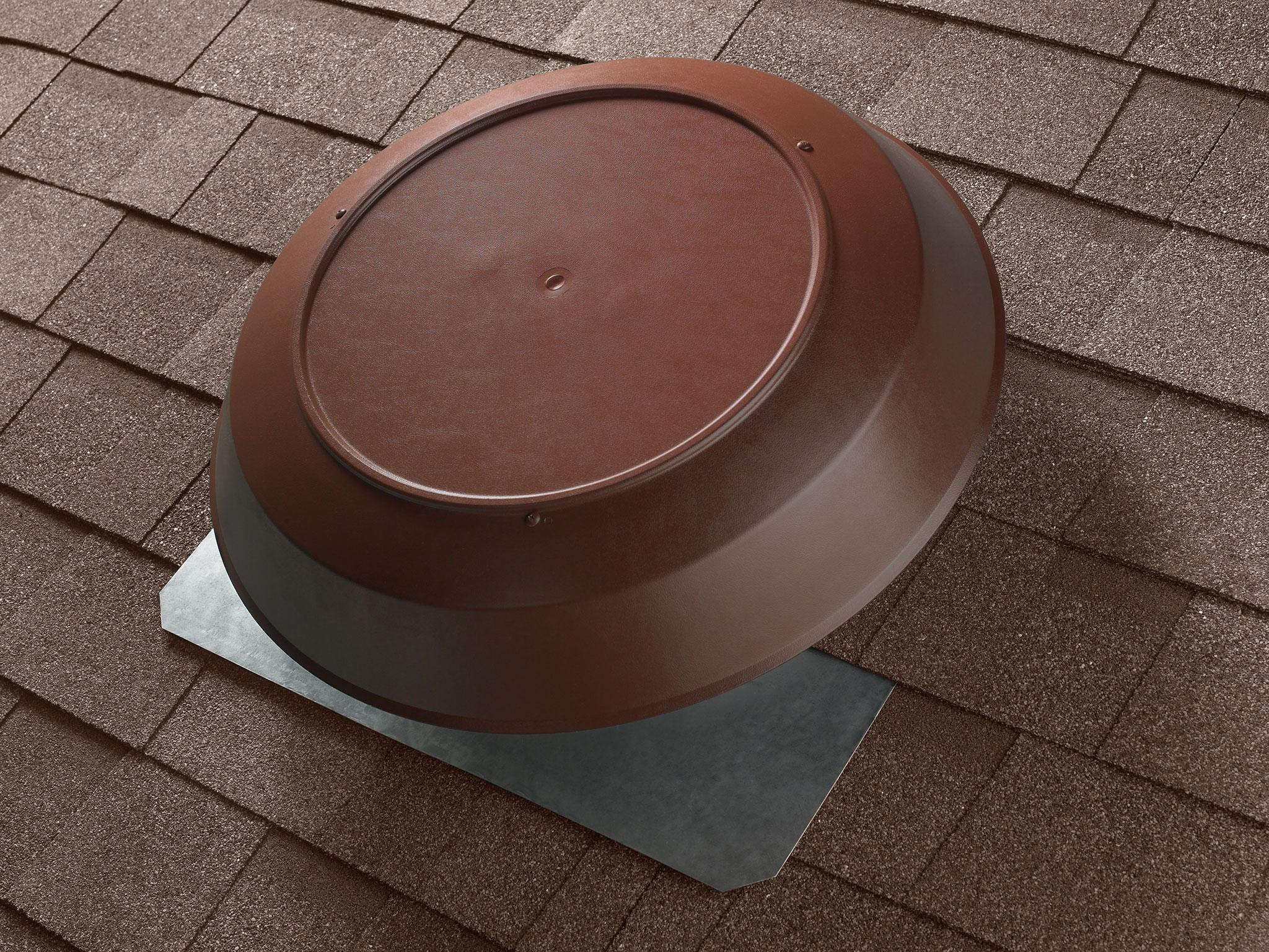 Broan 350b Roof Mount 120 Volt Powered Attic Ventilator 1050 Cfm Electrical Wiring Diagrams 12 Brown Dome