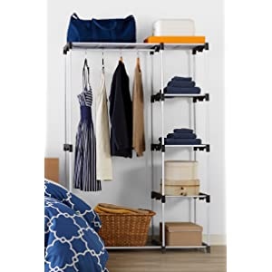AmazonBasics Double Rod Freestanding Closet