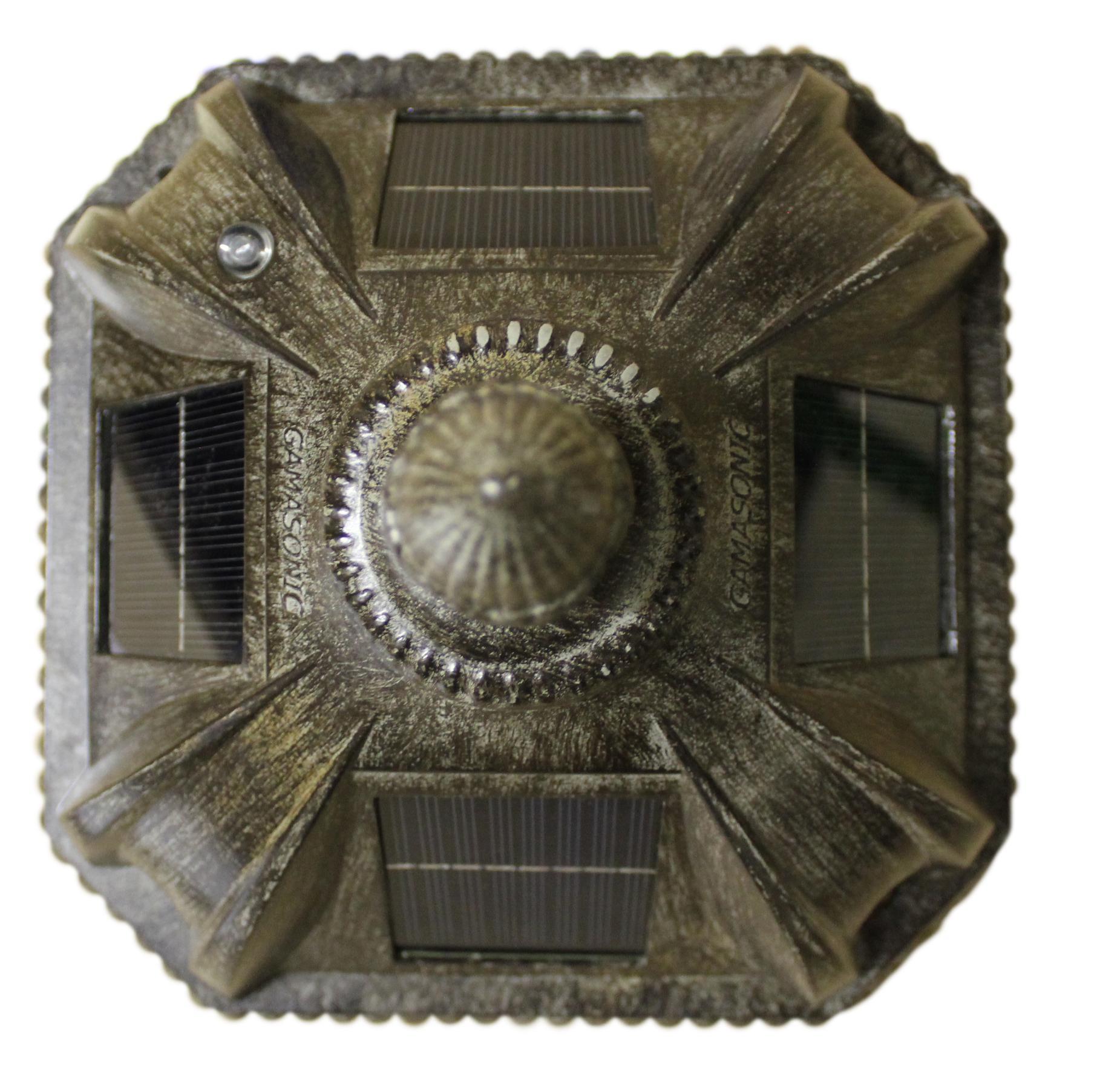 Amazon.com : Gama Sonic Royal Solar Lamp Post and Single Lamp LED