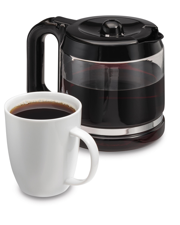 Brew Hot Water Coffee Maker : Amazon.com: Hamilton Beach 49982 Coffee Maker & Hot Water Dispenser, Black: Kitchen & Dining