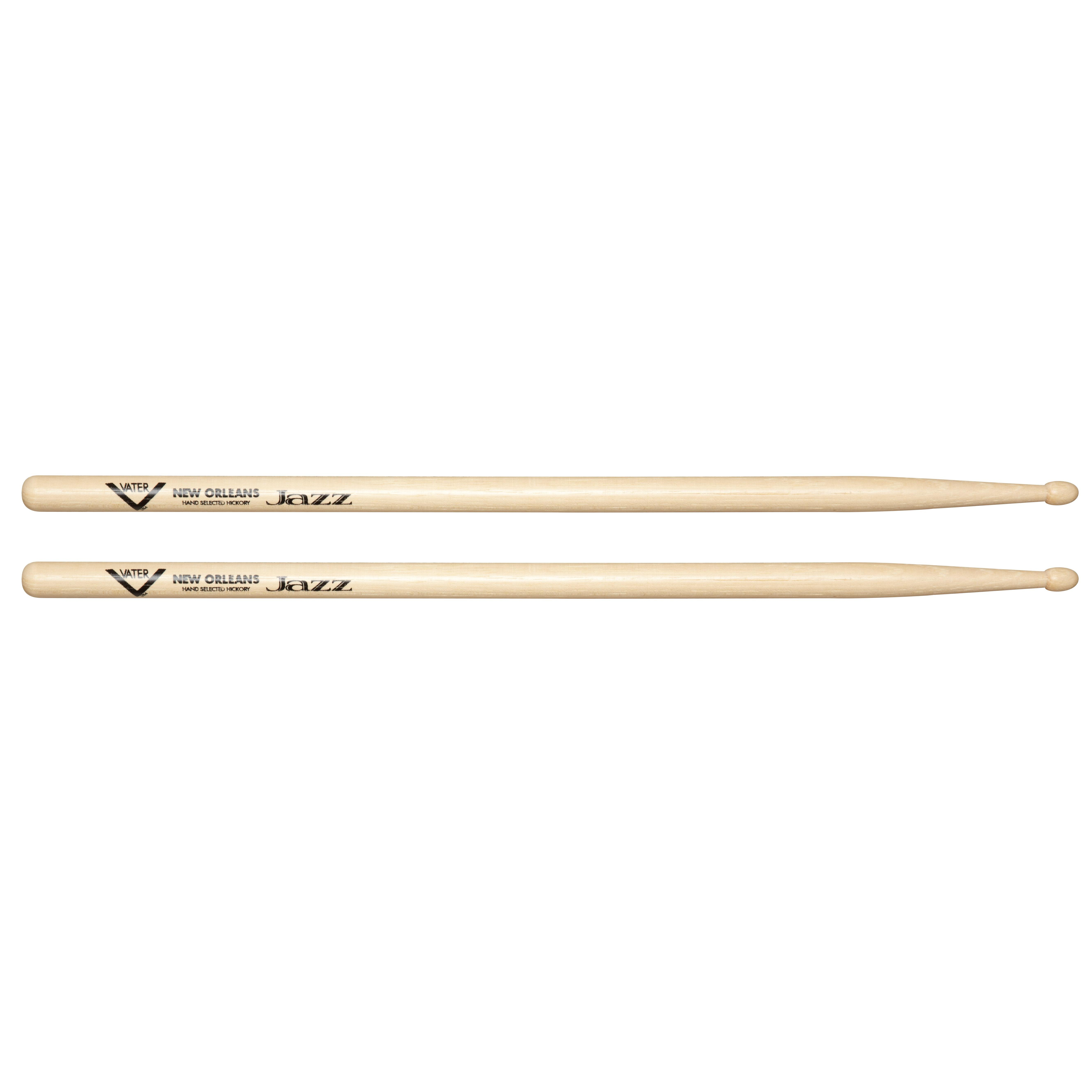 vater new orleans jazz hickory drum sticks wood pair musical instruments. Black Bedroom Furniture Sets. Home Design Ideas
