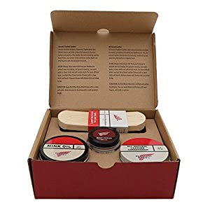 Amazon.com: Red Wing Heritage Shoe Care Gift Kit: Shoes