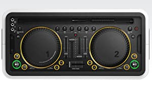 Philips DS8900 M1X-DJ Sound System Docking Station and Bluetooth - Scratch wheels & cross faders