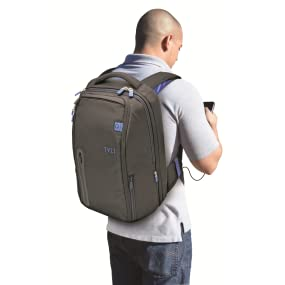 Amazon.com: TYLT Powerbag Travel Battery Charging Backpack