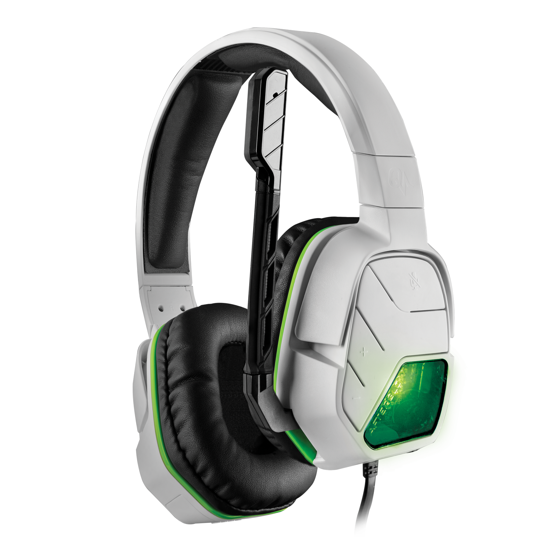Amazon.com: PDP Afterglow LVL 5+ Wired Headset for Xbox One - White ...