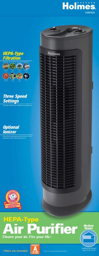 holmes egg air purifier how to clean filter
