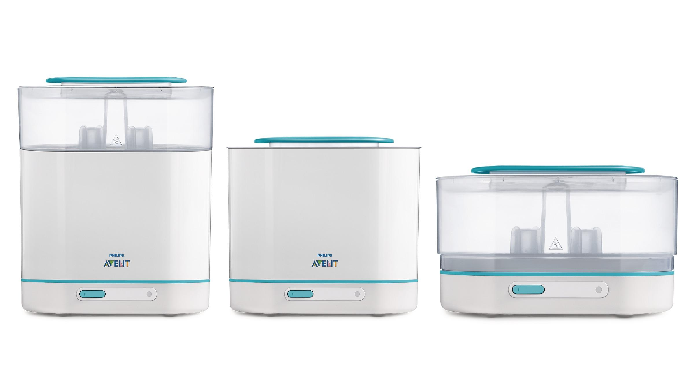 Amazon Com Philips Avent 3 In 1 Electric Steam