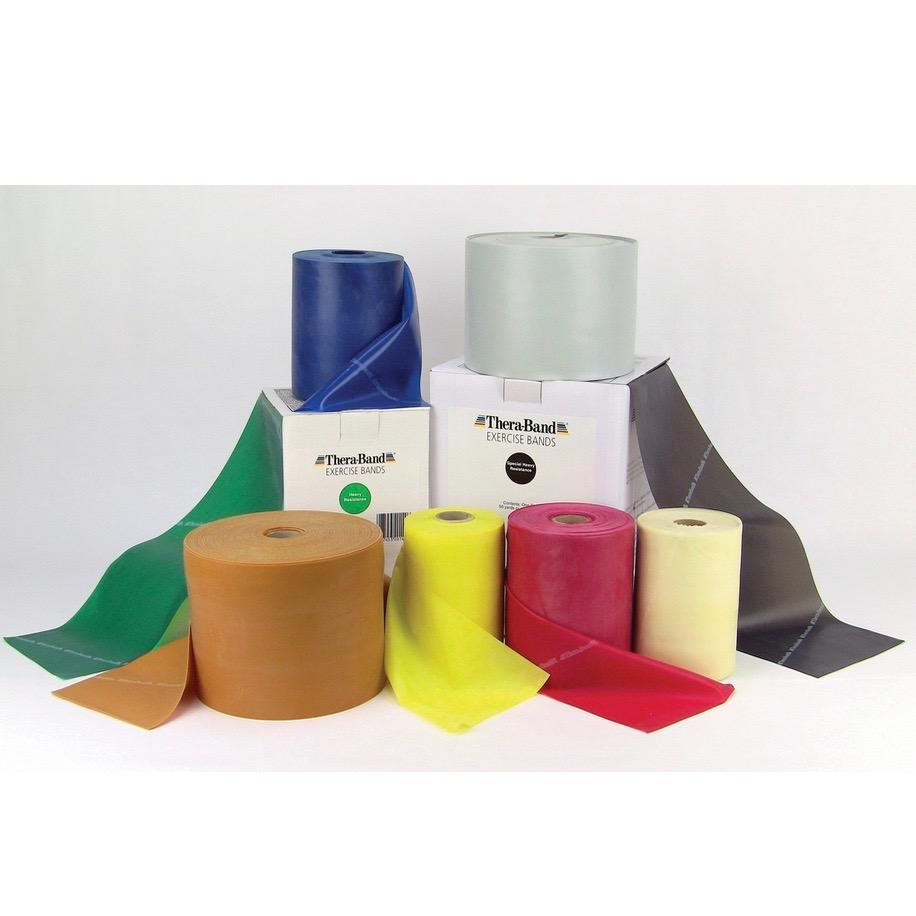 Amazon.com: Thera-Band Light Set of 3 - 5FT Latex Resistance ...