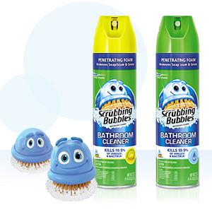 How to use Disinfectant Scrubbing Bubbles Bathroom Cleaner.