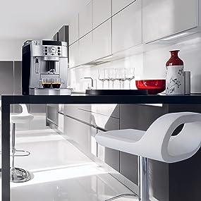 delonghi ecam22110sb compact automatic cappuccino latte and espresso machine