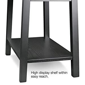 Amazon.com: Leick Furniture Mission Chairside Table, Slate