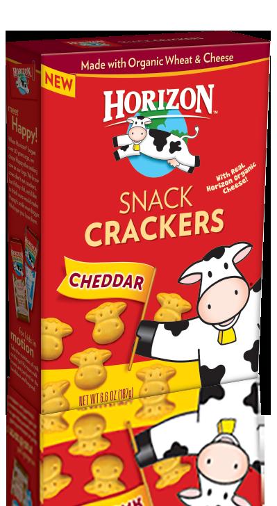 Amazon.com: Horizon Organic Snack Crackers, Cheddar, 6.6