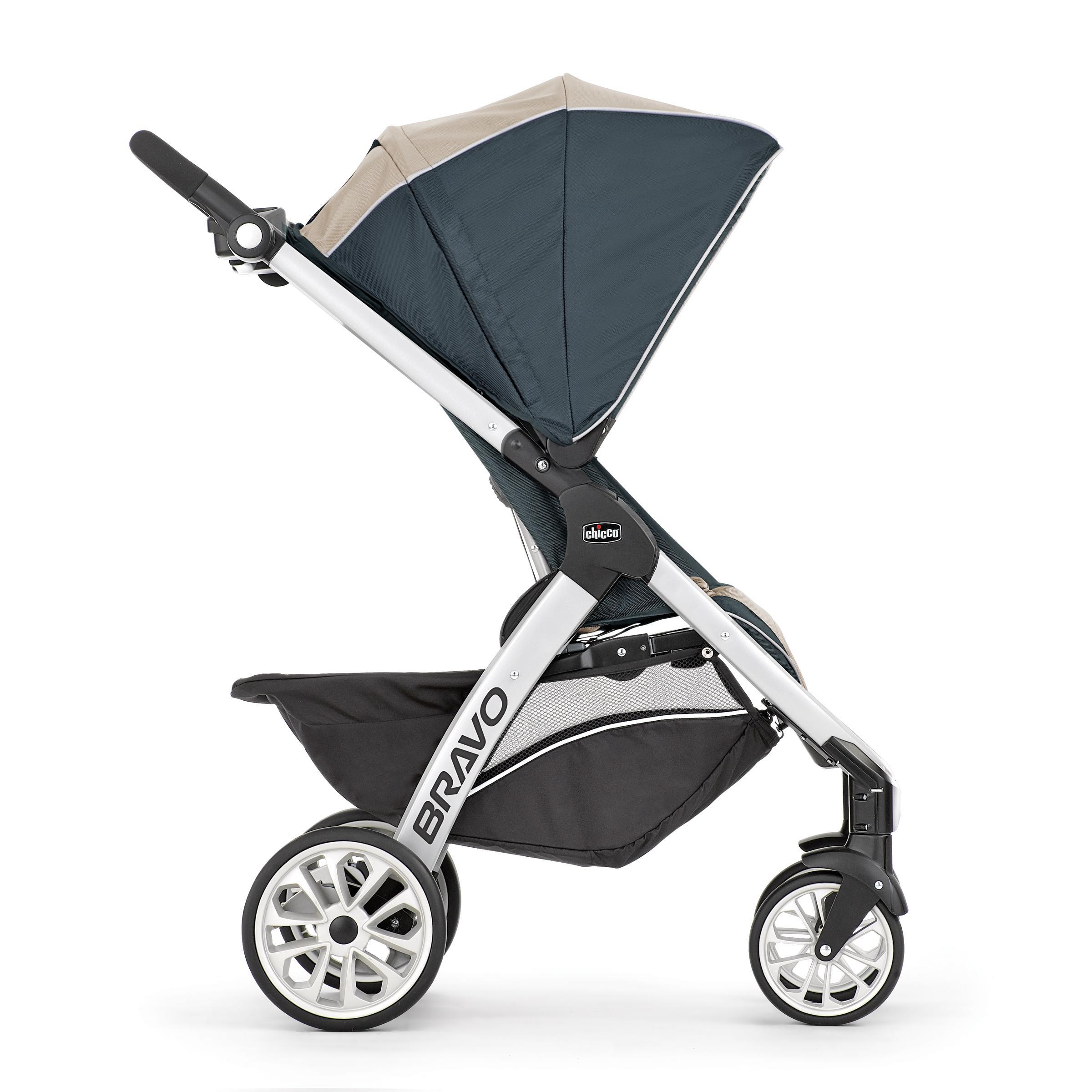 amazon com chicco bravo stroller u0026 chicco keyfit infant car seat