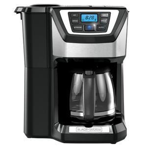 12-Cup Mill & Brew Coffeemaker (Black)