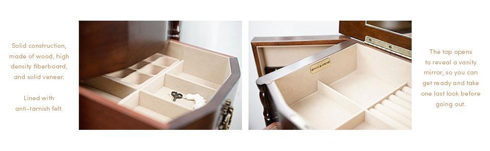 read more amazoncom antique jewelry armoire