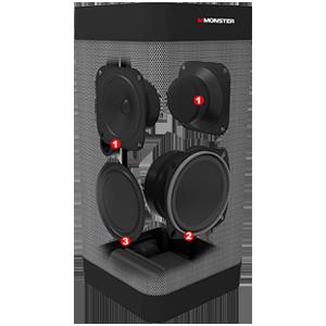 speakers, driver, sound, speaker