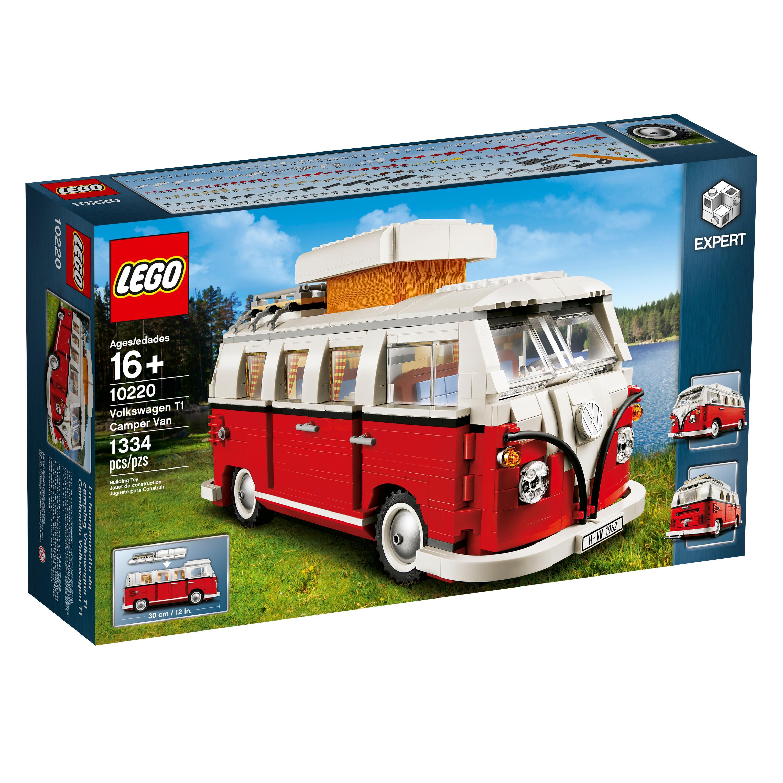 Amazon.com: LEGO Creator Expert Volkswagen T1 Camper Van 10220 Construction Set: Toys & Games
