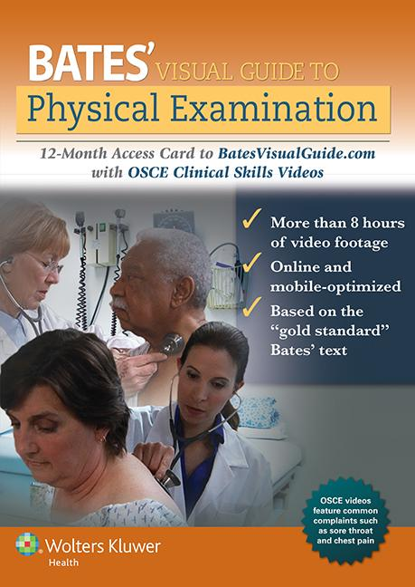 Bates' guide to physical examination and history-taking ...