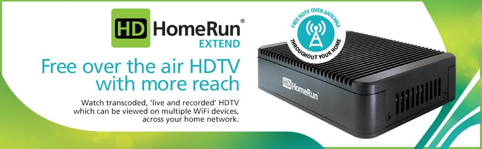Amazon.com: SiliconDust HDHomeRun EXTEND. FREE broadcast ...