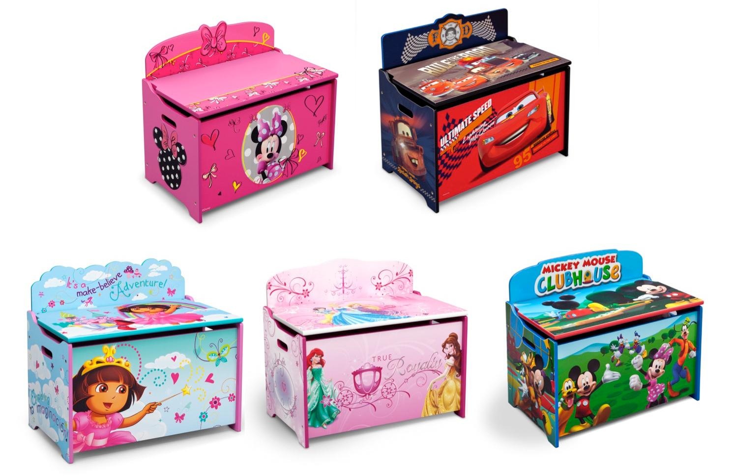 View larger  sc 1 st  Amazon.com & Amazon.com: Delta Children Deluxe Toy Box Disney Princess: Baby Aboutintivar.Com