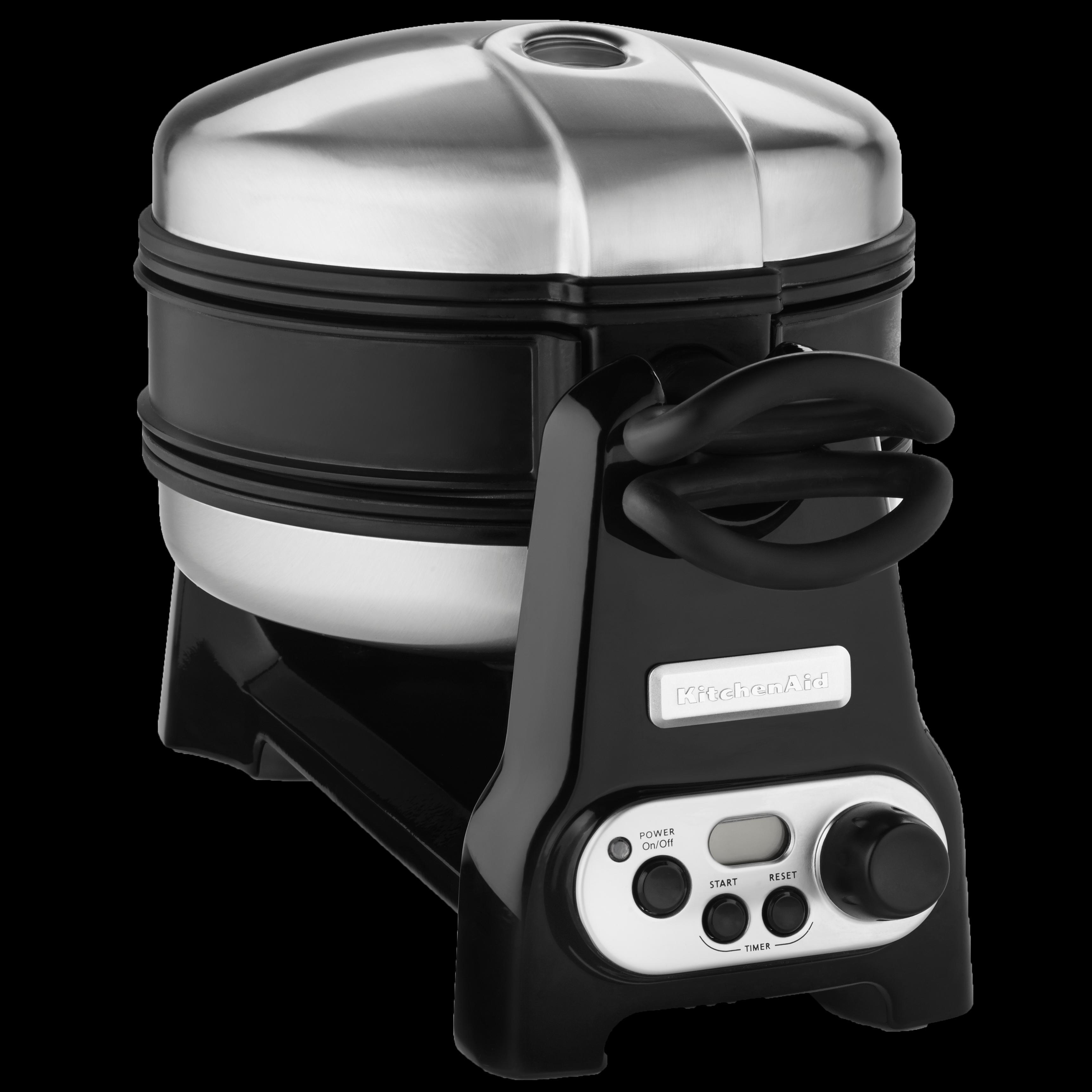 Amazon Com Kitchenaid Kwb110ob Waffle Baker With