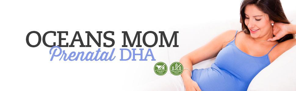 oceans mom prenatal DHA pregnancy breastfeeding