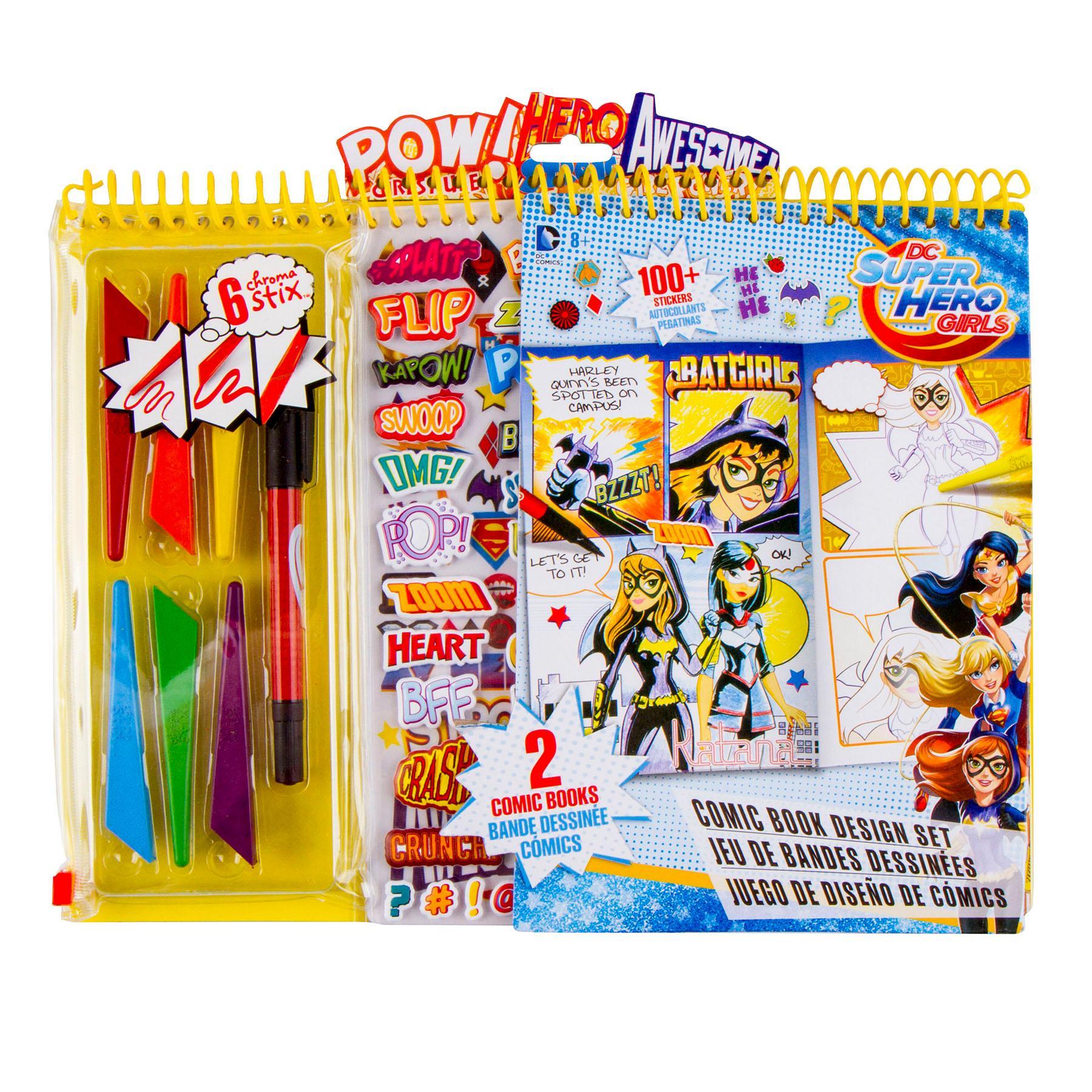 Kit comic strip hero