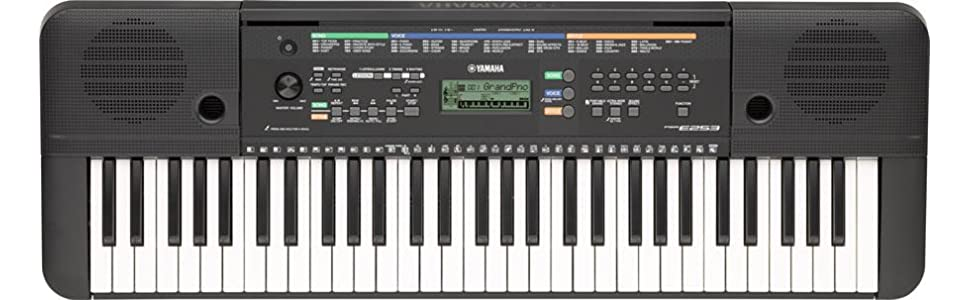 Difference Between Yamaha Psr E And E